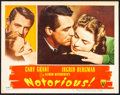 """Movie Posters:Hitchcock, Notorious (RKO, 1946). Very Fine. Lobby Card (11"""" X 14""""). Hitchcock.. ..."""