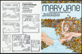 """Movie Posters:Adult, Mary Jane (Variety Films, 1972). Very Fine+. Uncut Pressbooks (Approx. 60) Identical (4 Pages, 8.5"""" X 11""""). Adult.. ... (Total: 60 Items)"""