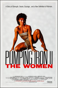 Pumping Iron II: The Women & Other Lot (Cinecom, 1985). Flat Folded, Overall: Very Fine-. One Sheets (Approx. 535) (...
