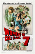 Women in Cell Block 7 & Other Lot (Aquarius Releasing, 1974). Flat Folded, Overall: Very Fine-. One Sheets (Appr...
