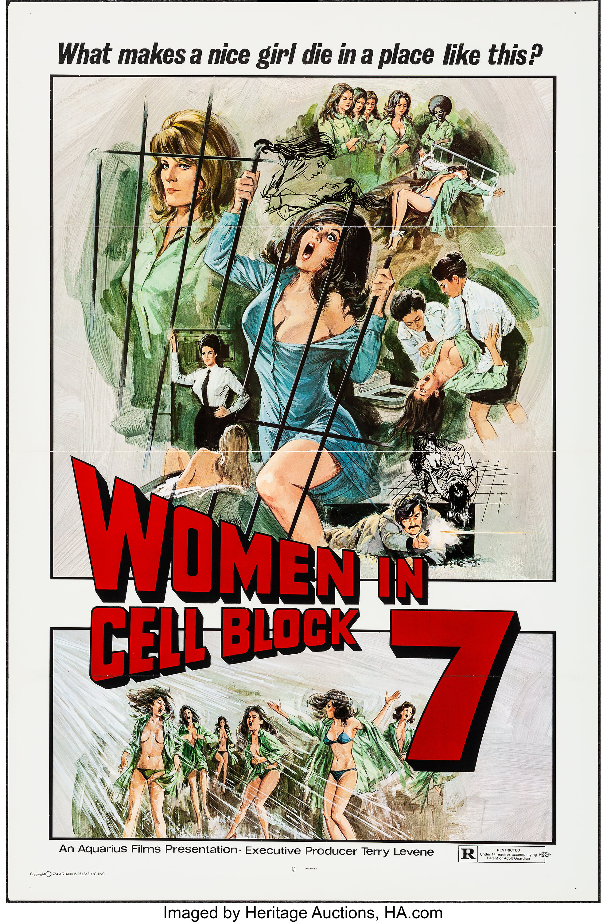 Paola Senatore women in cell block 7 & other lot (aquarius releasing, 1974). | lot #54506 | heritage auctions