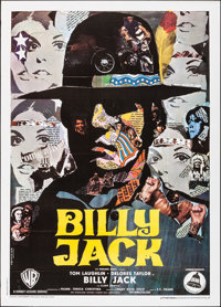 "Billy Jack (Warner Brothers, 1971). Folded, Very Fine-. Italian 2 - Fogli (39.25"" X 55""). Piero Ermanno Iaia A..."