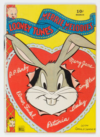 Looney Tunes and Merrie Melodies Comics #29 (Dell, 1944) Condition: FN/VF