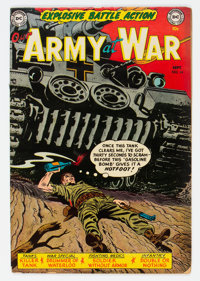 Our Army at War #14 (DC, 1953) Condition: VG