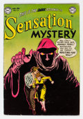 Golden Age (1938-1955):Horror, Sensation Mystery #113 (DC, 1953) Condition: Apparent FN+....