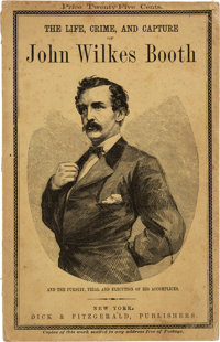George Alfred Townsend. The Life, Crime and Capture of John Wilkes Booth