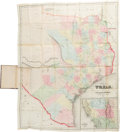 Miscellaneous:Maps, J. Eppinger & F.C. Baker. Map of Texas Compiled from Surveys Recorded in the General Land Office. 1852. ...