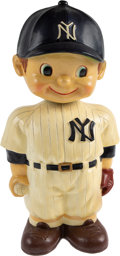 "Baseball Collectibles:Others, 1961-62 New York Yankees Oversized Promotional Nodder (14"")--Finest of Three Known! ..."