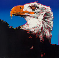 Andy Warhol (1928-1987) Bald Eagle, from Endangered Species, 1983 Screenprint in colors o