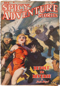 Pulps:Adventure, Spicy Adventure Stories - December 1938 (Culture) Condition: VG+....