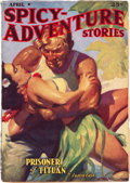 Pulps:Adventure, Spicy Adventure Stories - April 1938 (Culture) Condition: FN-....