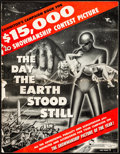 "Movie Posters:Science Fiction, The Day the Earth Stood Still (20th Century Fox, 1951). Folded, Fine-. Uncut Pressbook (24 Pages, 14"" X 18""). Science Fictio..."