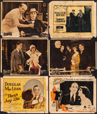 """Never Say Die & Other (Associated Exhibitors, 1924). Good+. Title Lobby Cards (2) & Lobby Cards (4) (11"""" X..."""