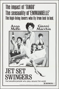 """Jet Set Swingers & Other Lot (Tempar, 1970). Folded, Overall: Very Fine-. One Sheets (Approx. 500) (27"""" X 41&qu..."""