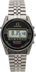 Timepieces:Wristwatch, Omega, Speedmaster Professional, Ref. 186.0004, Cal. 1620 LCD, Circa 1977. ...