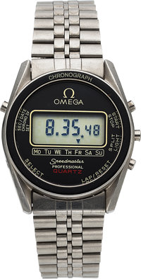 Omega, Speedmaster Professional, Ref. 186.0004, Cal. 1620 LCD, Circa 1977