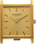 Timepieces:Wristwatch, Patek Philippe, 18k Yellow Gold, Ref. 3519, circa 1960's. ...
