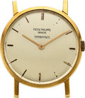Timepieces:Wristwatch, Patek Philippe, 18k Yellow Gold, Ref. 3470, Parts Watch. ...