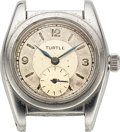 "Timepieces:Wristwatch, Rolex, ""Turtle"" Bubble Back, Ref. 2764, circa 1940 For Repair. ..."
