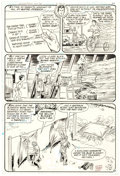 Original Comic Art:Panel Pages, Curt Swan and Frank Chiaramonte Action Comics #500 Story Page 22 Original Art (DC Comics, 1979). ...