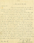 Autographs:U.S. Presidents, James Buchanan Superb Political Autograph Letter Signed: During the 1844 presidential campaign, Buchanan writes to a former ...