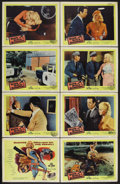 """Movie Posters:Crime, Guns, Girls and Gangsters (United Artists, 1959). Lobby Card Set of8 (11"""" X 14""""). Crime. Starring Mamie Van Doren, Gerald M... (Total:8 Items)"""