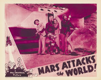 """Mars Attacks the World (Universal, 1938). Lobby Cards (2) (11"""" X 14""""). Universal took their extremely popular..."""