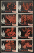 """Movie Posters:Horror, Burn, Witch, Burn! (AIP, 1962). Lobby Card Set of 8 (11"""" X 14""""). Science Fiction. Starring Peter Wyngarde and Margaret Johns... (Total: 8 Items)"""