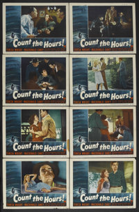 "Count the Hours (RKO, 1953). Lobby Card Set of 8 (11"" X 14""). Crime. Starring Teresa Wright, MacDonald Carey..."