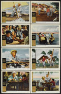"""Movie Posters:Adventure, The Old Man and the Sea (Warner Brothers, 1958). Lobby Card Set of8 (11"""" X 14""""). Drama. Starring Spencer Tracy, Felipe Pazo...(Total: 8 Items)"""