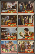 "Movie Posters:Adventure, The Avengers (Republic Pictures Corporation, 1950). Lobby Card Setof 8 (11"" X 14""). Adventure. Starring John Carroll, Adele...(Total: 8 Item)"