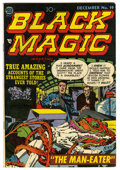 Golden Age (1938-1955):Horror, Black Magic #19 (Prize, 1952) Condition: FN....