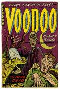 Golden Age (1938-1955):Horror, Voodoo #6 (Farrell, 1953) Condition: VG+....