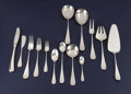 Silver Flatware, Continental:Flatware, A Set of Danish Silver Flatware. A. Michelsen, Copenhagen, Denmark.Circa 1950. Silver and stainless steel. Marks: A. M... (Total:75 )