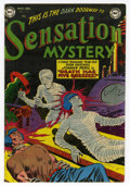 Golden Age (1938-1955):Horror, Sensation Mystery #112 (DC, 1952) Condition: FN....