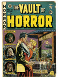 Golden Age (1938-1955):Horror, Vault of Horror #18 (EC, 1951) Condition: GD/VG....