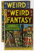 Golden Age (1938-1955):Science Fiction, Weird Fantasy #6 and 7 Group (EC, 1951).... (Total: 2)