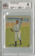Baseball Cards:Singles (1930-1939), 1933 Goudey Vernon Gomez #216 Beckett VG-EX 4. Easily one of themost sought-after and aesthetically pleasing baseball card...