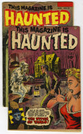 Golden Age (1938-1955):Horror, This Magazine Is Haunted #9 and 12 Group (Fawcett, 1953) Condition:Average VG.... (Total: 2)