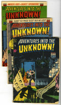 Golden Age (1938-1955):Horror, Adventures Into The Unknown Group (ACG, 1949-52).... (Total: 3)