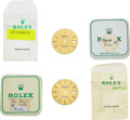 Timepieces:Other , Two Rolex Oyster Perpetual Datejust Dials. ... (Total: 2 Items)