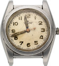 Timepieces:Wristwatch, Rolex, Steel Bubble Back, Ref. 2940, circa 1940, Parts Watch. ...