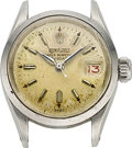 "Timepieces:Wristwatch, Rolex, ""LadyDate"", Ref. 6516 For Restoration, circa 1956. ..."