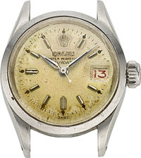 "Rolex, ""LadyDate"", Ref. 6516 For Restoration, circa 1956"