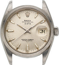 Rolex, Steel Oyster Perpetual Date, Ref. 1500, circa 1961, Parts Watch
