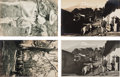 Photographs:Gelatin Silver, Hugo Brehme (German, 1882-1954). A Group of Four Mexican Postcards (4 works). Gelatin silver. 3-3/8 x 5-3/8 inches (8.6 ...
