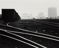 Photographs:Gelatin Silver, David Plowden (American, b. 1932). Railroad Yards, South Chicago, 1966. Gelatin silver, printed later. 9 x 11 inches (22...