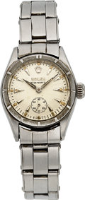 Timepieces:Wristwatch, Rolex, Lady's Steel Oyster Perpetual, Ref. 6505, For Restoration. ...