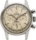 Timepieces:Wristwatch, Omega, Seamaster Steel Chronograph, Ref. 105.004-64, For Repair. ...