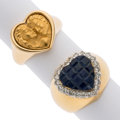 Estate Jewelry:Rings, Sapphire, Diamond, Gold Rings. ...